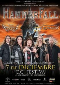 Hammerfall en Lima por segunda vez, luego de 16 años... y sabemos por qué