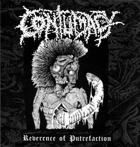 Reseña de Contumacy - Reverence of Putrefaction - Iron Bonehead - 2018