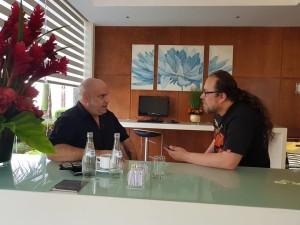 Entrevista a Blaze Bayley antes de su show en el Rock and Heavy 4