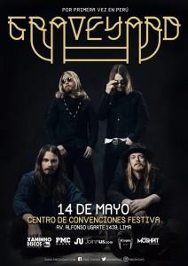 Show de Graveyard en Lima
