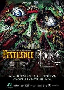 Pestilence y Horna en el Festiva, la reunión por el bien común