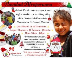 NAVIDAD AFROPERUANA EN LA COMUNIDAD DE CHAMORRO, EL CARMEN - CHINCHA