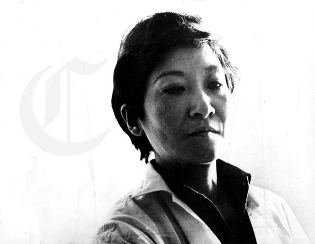 LIMA, 10 DE JUNIO DE 1984 PINTORA PERUANA TILSA TSUCHIYA. FOTO: EL COMERCIO