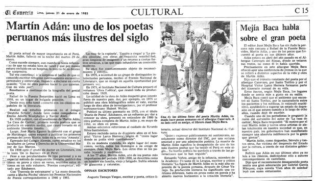 31 1 1985 cultural