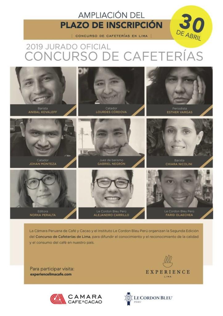 Jurado Concurso de Cafeterias 2009