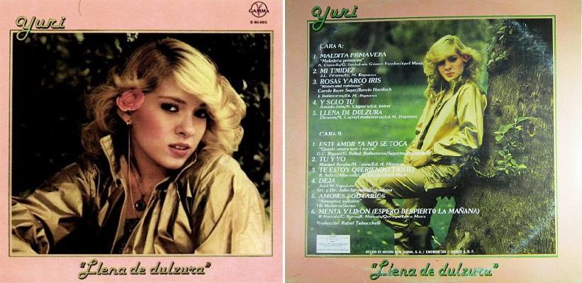 """""""Llena de dulzura"""", álbum de 1981 que incluyó """"Maldita primavera""""."""