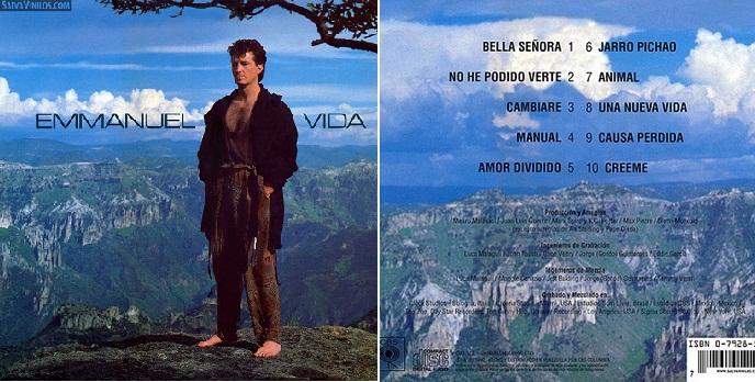 """""""Vida"""", disco de 1990 que incluyó """"Bella señora""""."""