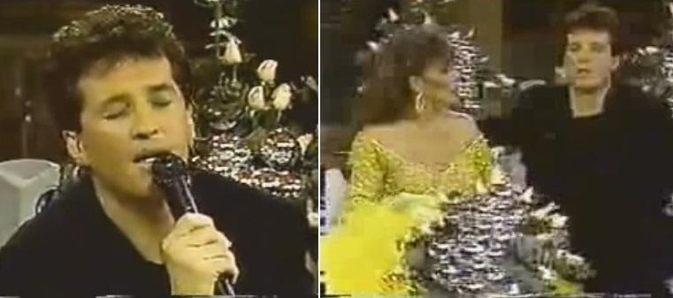 Emmanuel canta valses peruanos en el programa de Verónica Castro.