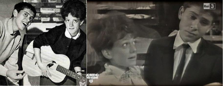 Gianni Morandi y Rita Pavone, ídolos del pop italiano en los años 60.