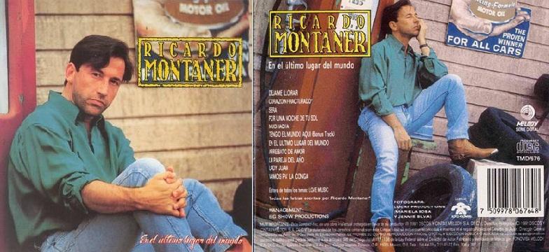 """""""En el último lugar del mundo"""", álbum de 1991 que incluyó """"Déjame llorar""""."""