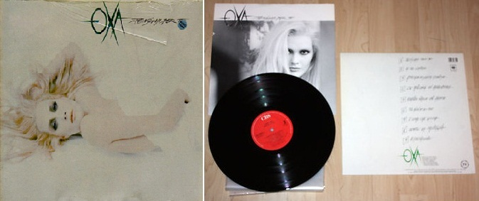 """""""Pensami per te"""", álbum de 1988 que incluyó """"Oltre la montagna""""."""