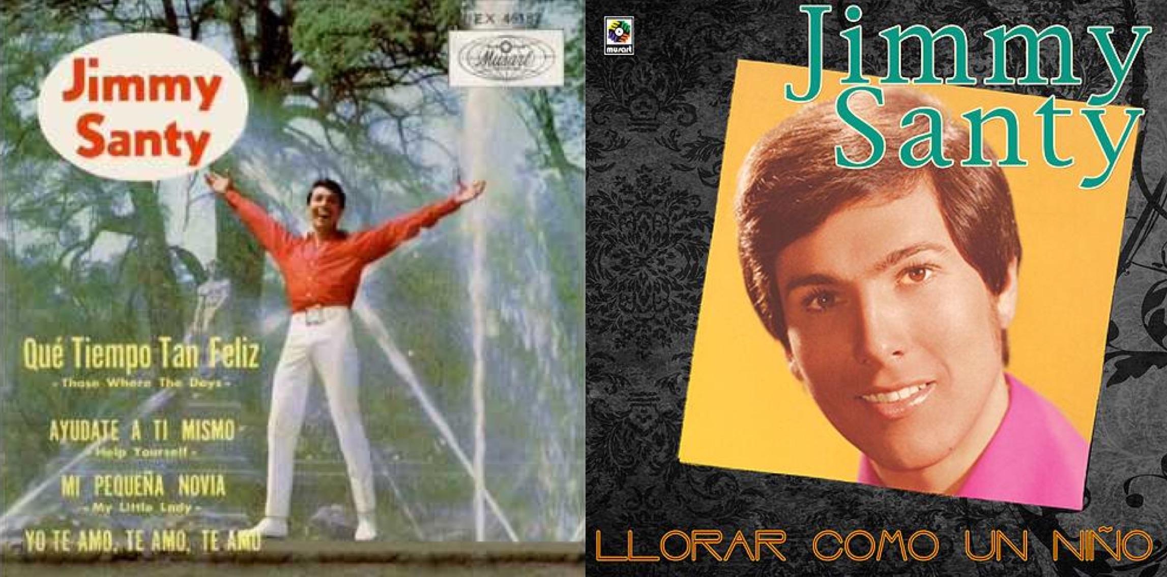 Discos del peruano Jimmy Santi.