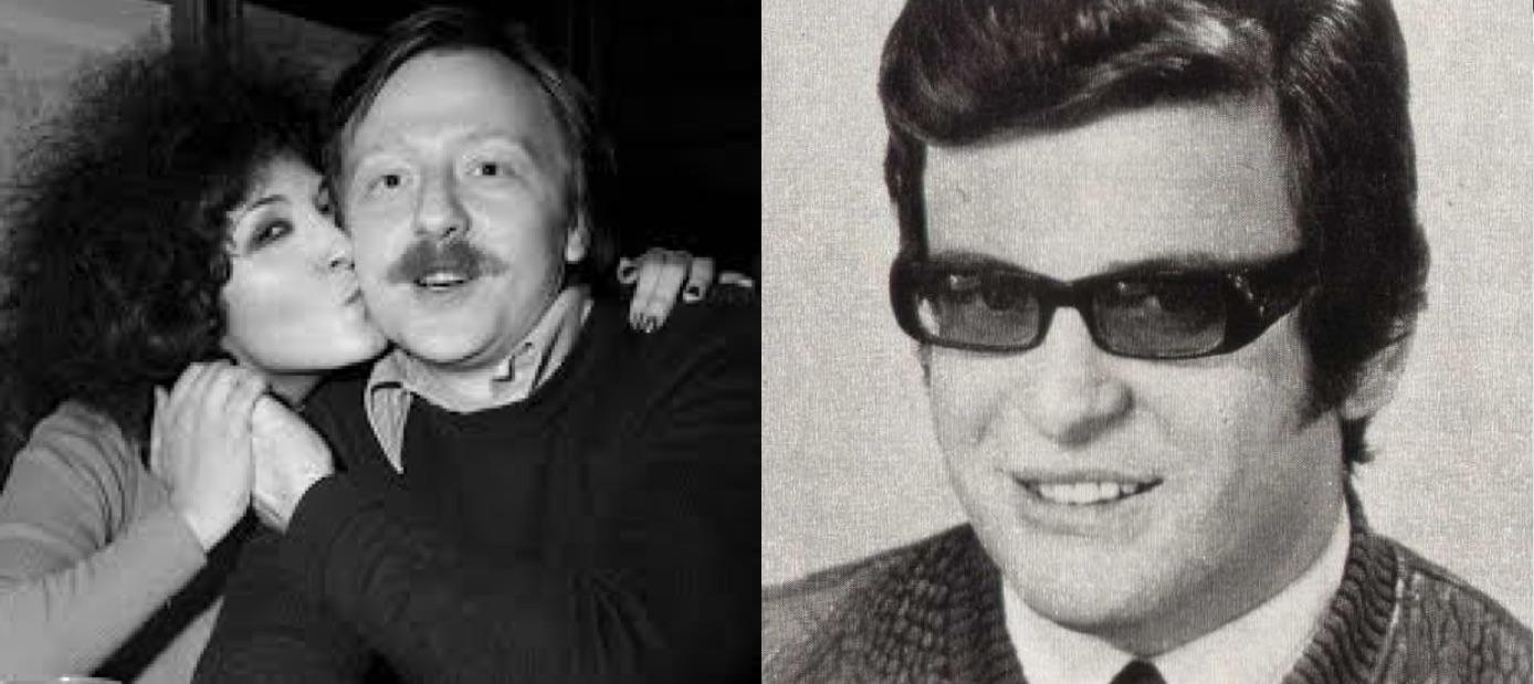 """Giancarlo Bigazzi (izq.) y Claudio Cavallaro (der.), los compositores de """"Lisa dagli occhi blu""""."""