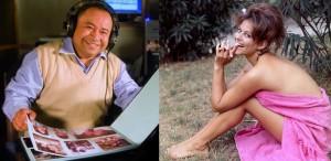 """""""La hora del lonchecito"""", las chicas de Papetti y Claudia Cardinale"""