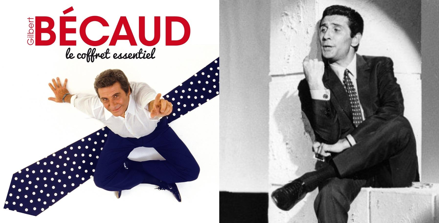 Izq.: CD especial de 2011, cuya portada recuerda su famosa corbata. Der.: En los años 60.