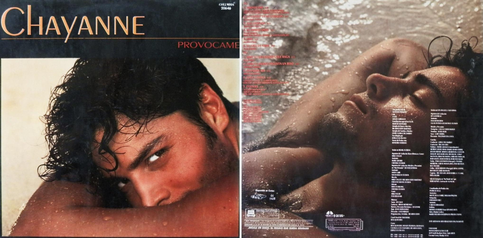 """""""Provócame"""", álbum lanzado en 1992."""