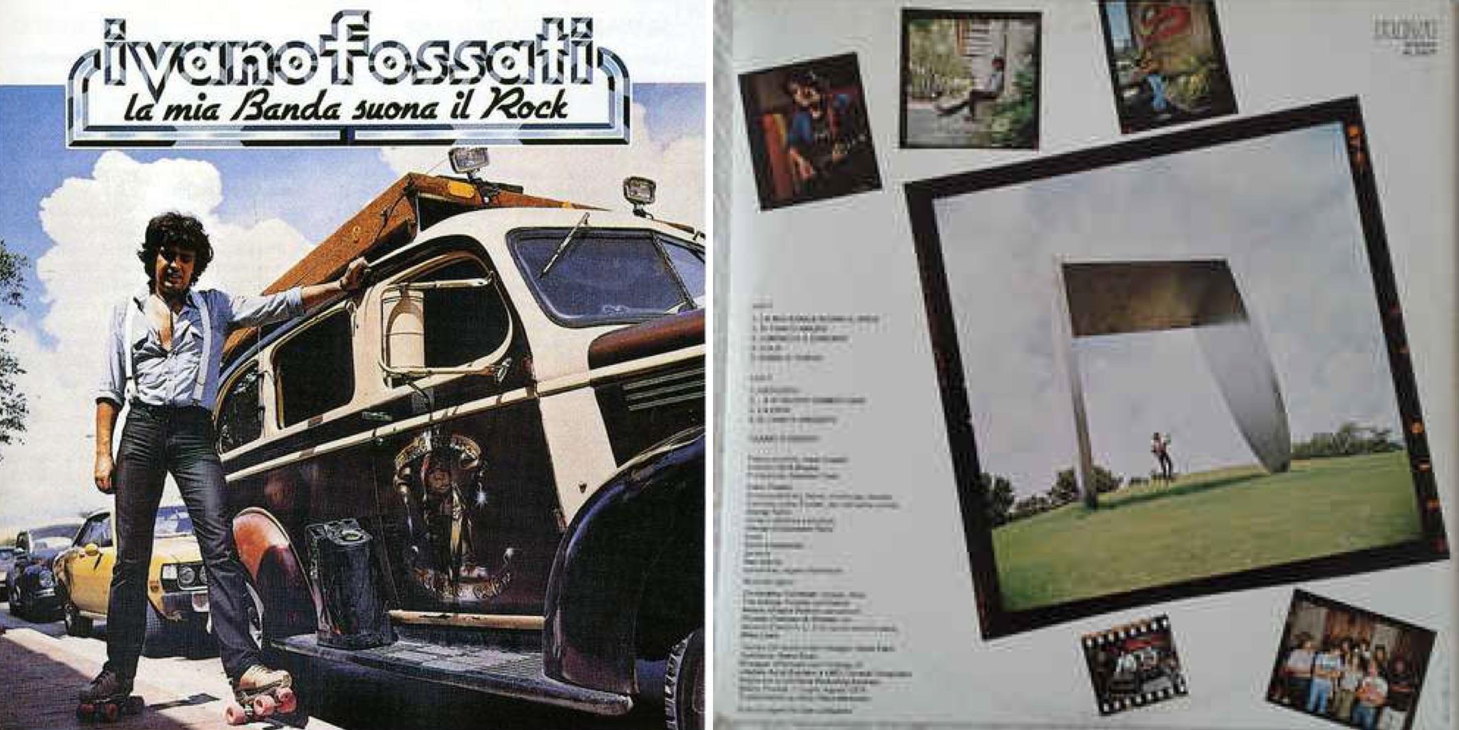 """""""La mia banda suona il rock"""", álbum de 1979."""