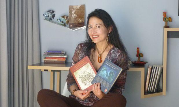 La escritora cusqueña Karina Pacheco Medrano (Premio Luces 2013) conversó con El Comercio sobre la más reciente publicación de Ceques Editores, 'Cusco, espejo de cosmografías: Antología de relato iberoamericano'.
