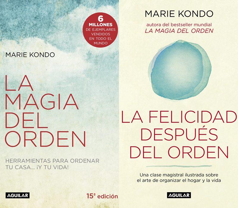 """Comentamos brevemente """"La magia del orden"""" y """"La felicidad después del orden"""" de la experta en organización japonesa Marie Kondo"""