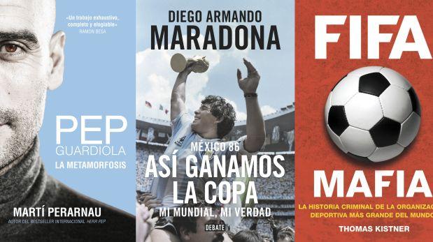 """Esta semana comentamos los libros """"FIFA Mafia"""" de Thomas Kiistner, """"México 86: Así ganamos la copa"""" de Diego Armando Maradona (y Daniel Arcucci) y """"Pep Guardiola. La metamorfosis"""" de Martín Perarnau"""
