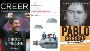 """Te recomendamos tres libros: """"Creer"""", """"Las islas"""" y """"Pablo Escobar: In fraganti"""""""