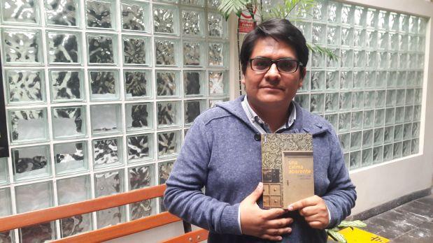 """El autor nacido en 1976 conversa con """"Libros a mí"""" sobre su más reciente libro de cuentos, """"Una calma aparente"""", publicado por Animal de Invierno"""