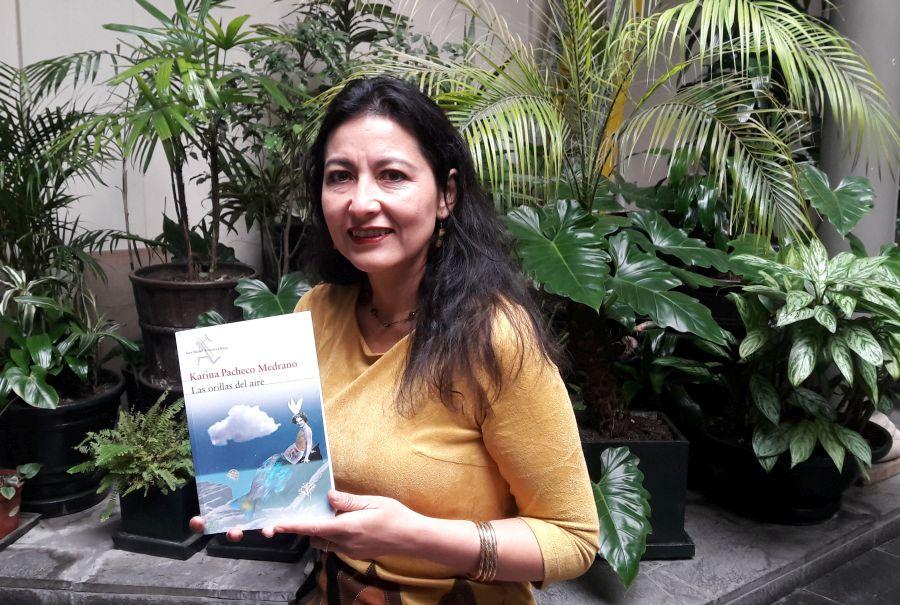 (Karina Pacheco ganó el Premio Luces en 2013. Foto: José Miguel Silva)