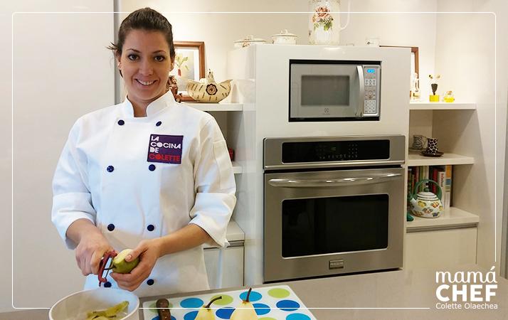 Mamá Chef Colette Olaechea cocina alimentación infantil