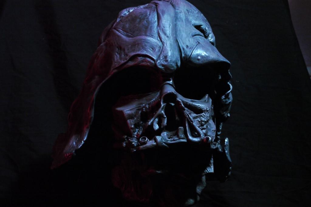 Réplica del casco de Darth Vader Episodio VII | Blogs | El Comercio Perú