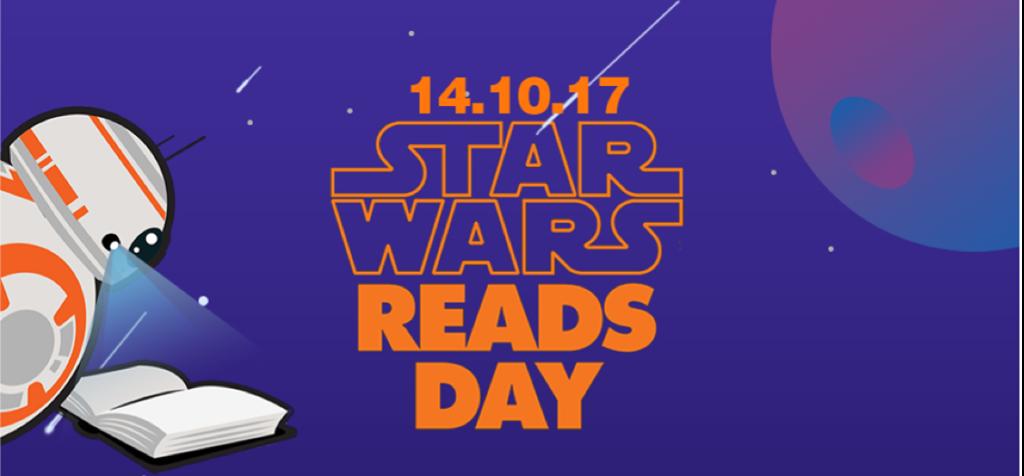 Este sábado 14 de octubre se desarrollará el'Star Wars Reads Day',evento internacional organizado porla librería SBS que permitirá a los seguidores de la saga disfrutar de Star Wars más allá de las películas. Los fanáticos tendrán la oportunidad de ver a sus personajes favoritos como Darth Vader, Yoda, la Princesa Leia, Clone troopers, la Legión 501, entre otros. Los más pequeños podrán armar sus personajes favoritos utilizando legos. Para los más fanáticos, se realizará un conversatorio sobre la nueva película...
