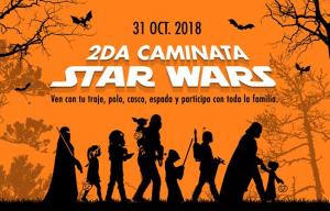 ¡Sé parte de la 2da caminata Star Wars!