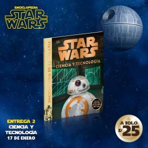 Adquiere el tomo 2 de la enciclopedia de Star Wars: Ciencia y tecnología