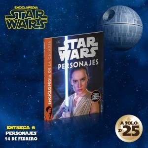 Adquiere el tomo VI de la enciclopedia de Star Wars: Personajes