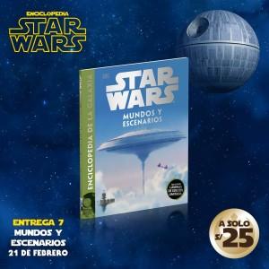 No te pierdas el tomo VII de la enciclopedia de Star Wars: Mundos y Escenarios