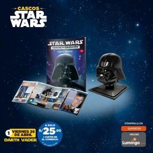 Adquiere los cascos más emblemáticos de Star Wars: Darth Vader