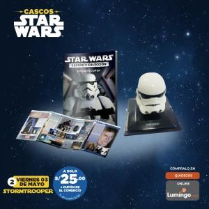 Adquiere los cascos más emblemáticos de Star Wars: Stormtrooper