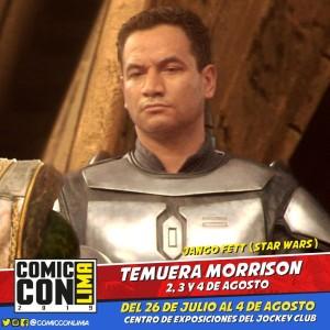 ¡Jango Fett estará presente en la Comic Con Lima 2019!