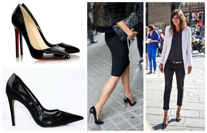 Zapatos de mujer para ir a la oficina - Zapatos collage ...