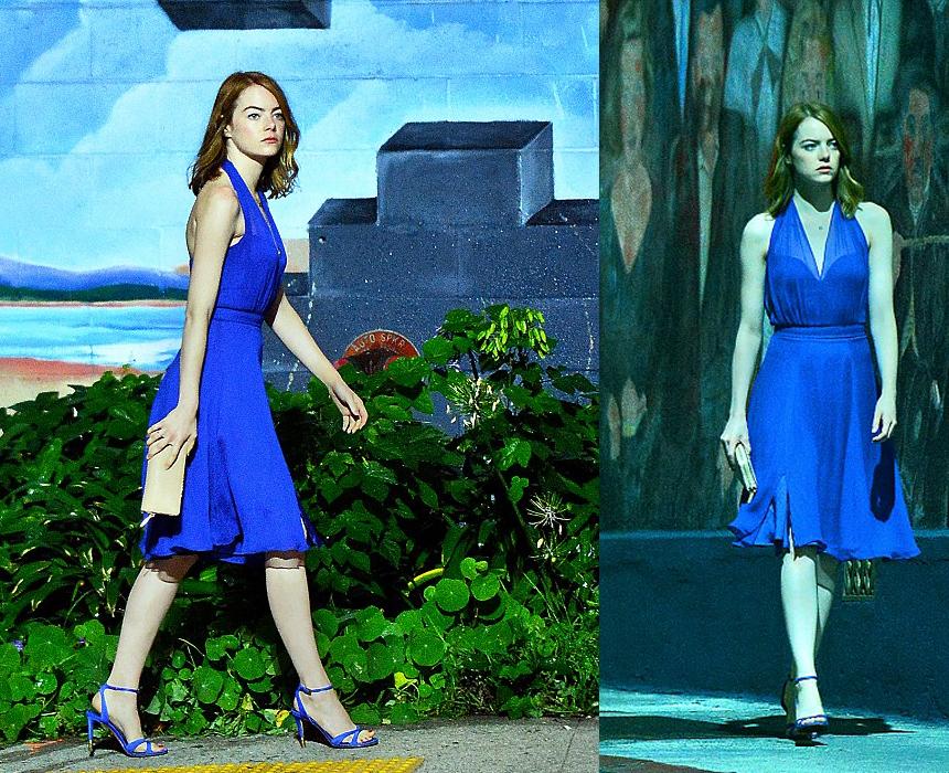 lalaland vestido azul
