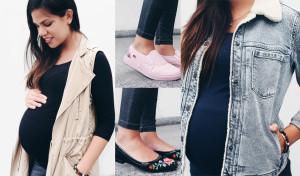 Sácale el jugo a tus pantalones de embarazada #LunesDeLooks