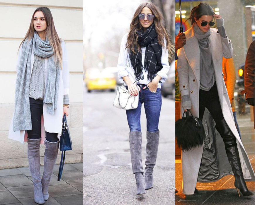 tendencias botas altas invierno