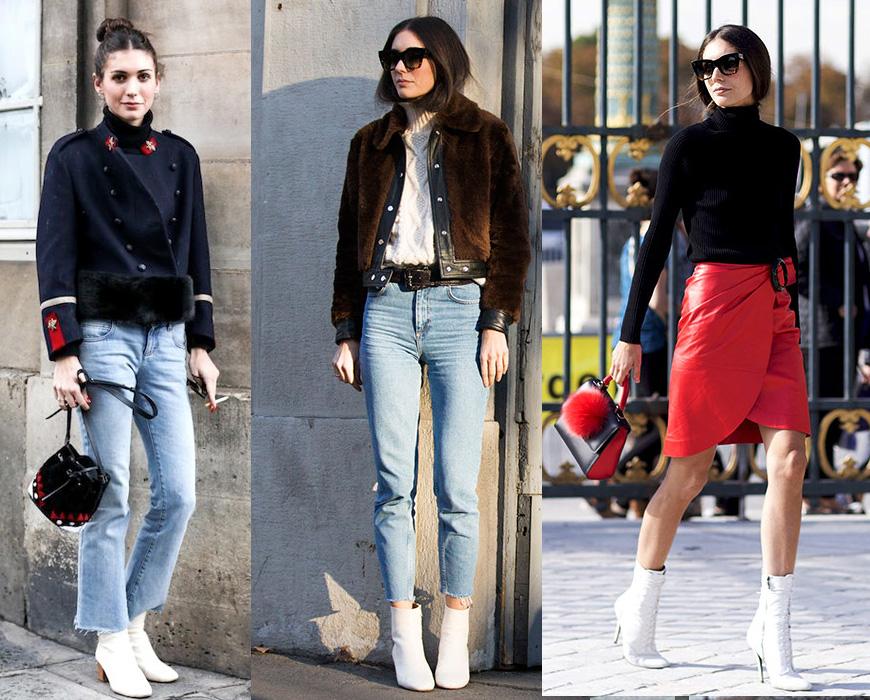 tendencias botas blancas invierno 2