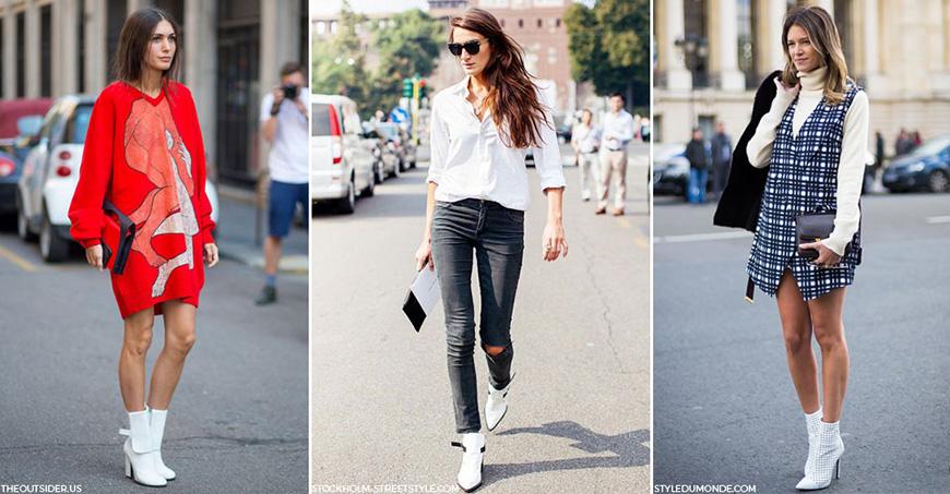 tendencias botas blancas invierno