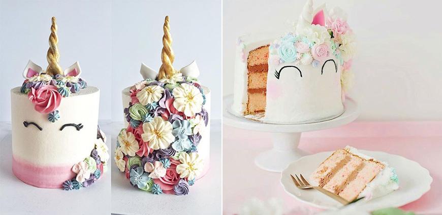 3 tendencias en decoraci n de tortas blogs el comercio for Decoracion para la pared de unicornio