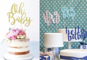 Celebraciones: Invitaciones, letreros y toppers para tortas