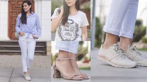 12 combinaciones para un jean blanco