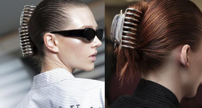 tendencia accesorios cabello 2019 ganchos