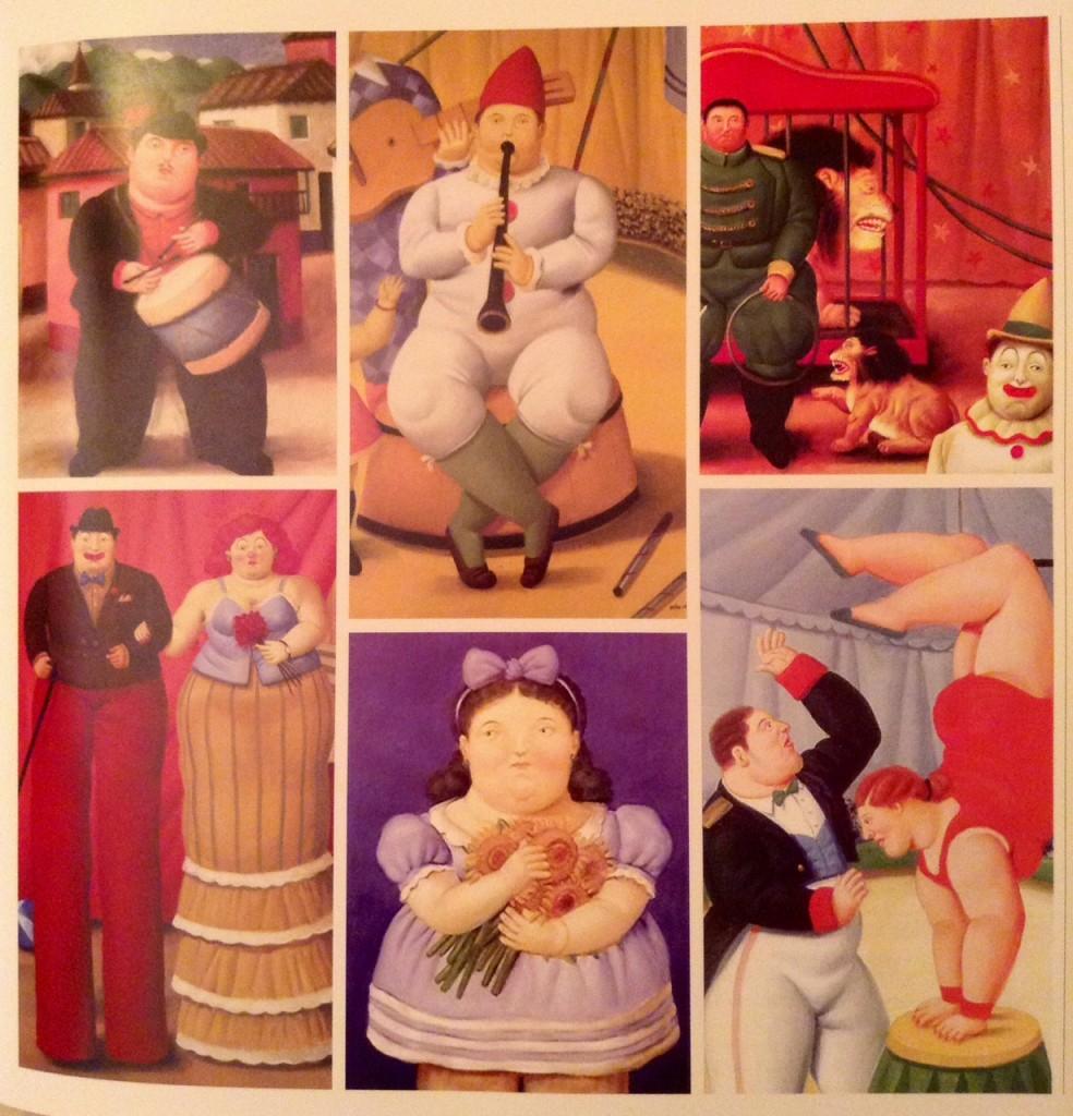 "Serie ""el circo"" de Fernando Botero"
