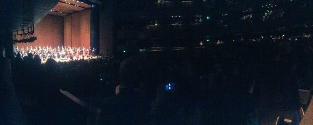 Panorámica a teatro lleno