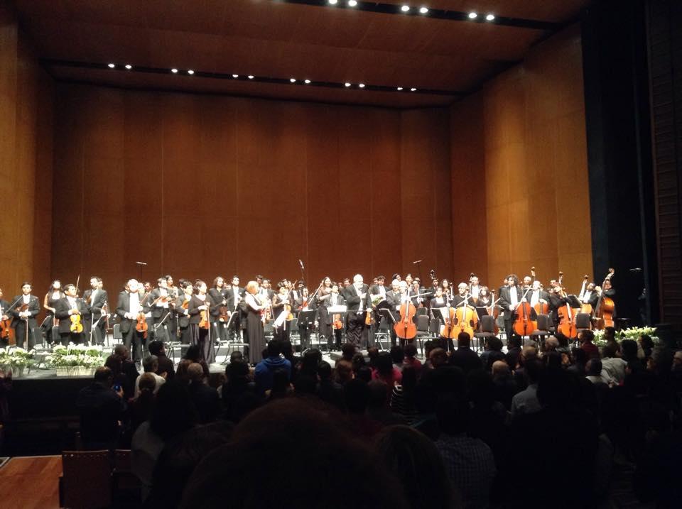 Ovación de pie para Penderecki (Ópera Perú)
